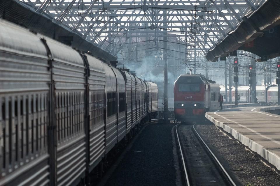Московский вокзал Петербурга подтопило из-за ливня