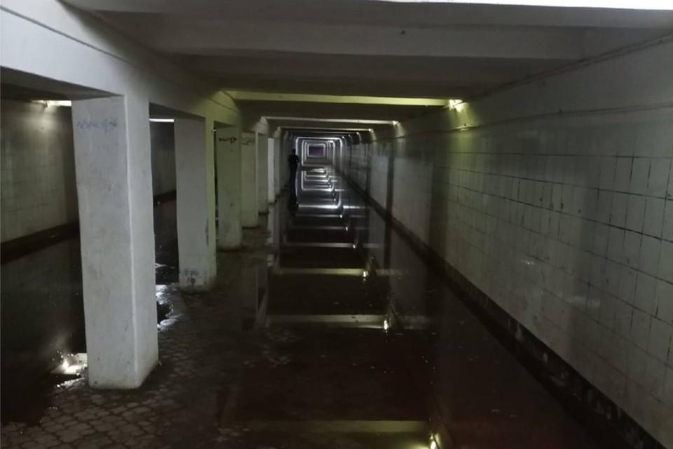 В марте 2021 года в подземном переходе заменили 2 дренажных насоса. Фото: Андрей Касаткин. Источник: Типичный Автозавод   Нижний Новгород
