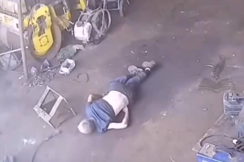 Несчастный случай произошел 1 сентября. Фото: скриншот из видео. Источник: Нижний Новгород  БЕЗ ЦЕНЗУРЫ 