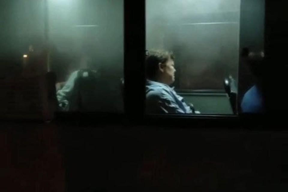Во время движения в автобусе закипела охлаждающая жидкость. Фото: @transportkrdru