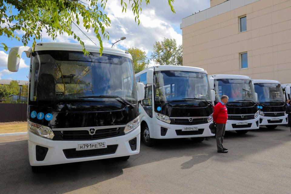 В Красноярском крае на маршруты выйдут 30 новых пассажирских автобусов. Фото: КОФМАН Вадим