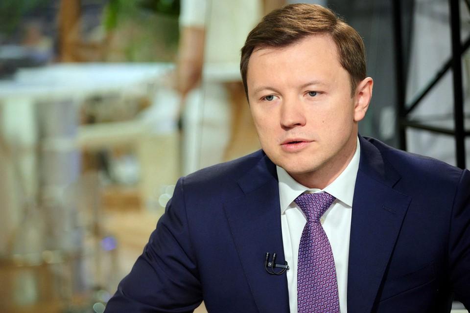 Заместитель мэра по вопросам экономической политики и имущественно-земельных отношений Владимир Ефимов
