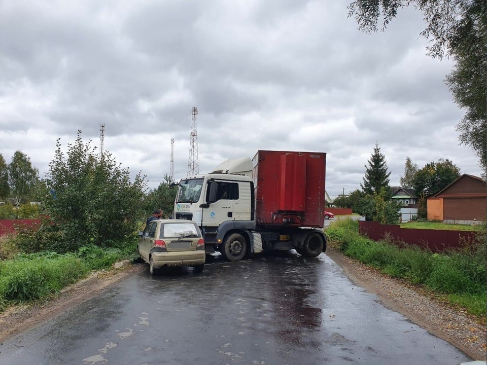 В ДТП пострадал водитель Фото: УГИБДД России по Тверской области
