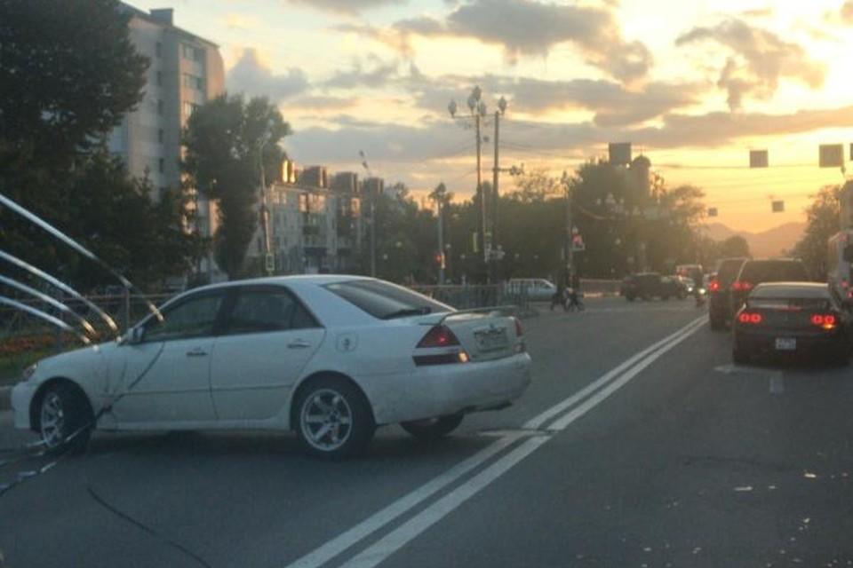водители нарушали правила, чтобы повернуть обратно