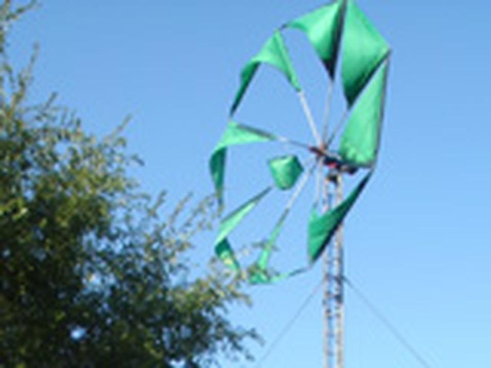 В Магнитогорске запустили завод, работающий на ветре