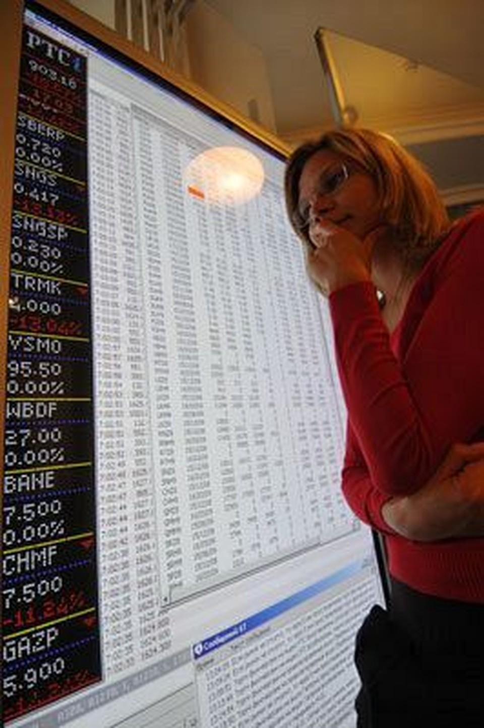 Акции российских компаний вчера дешевели.