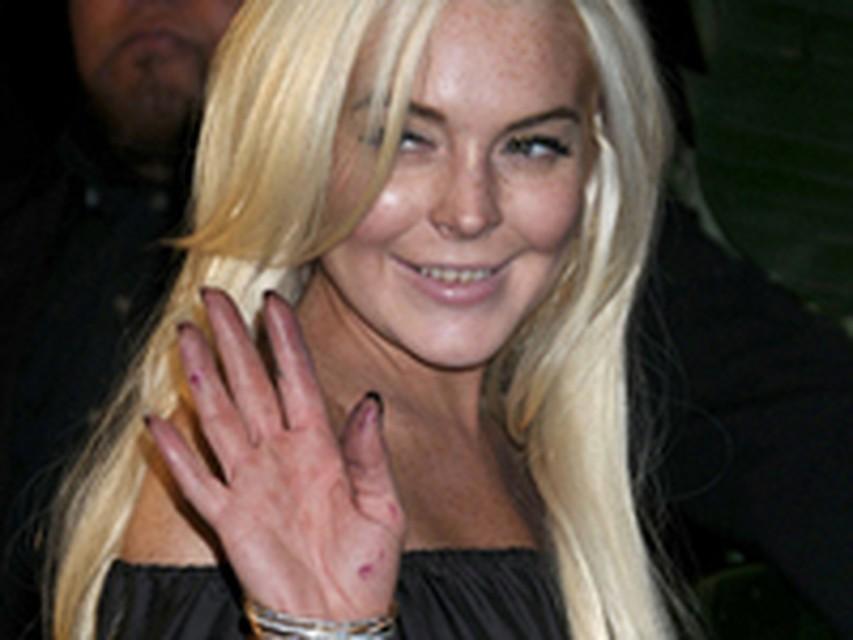 Линдси Лохан шокировала публику опустившимся видом линдси лохан