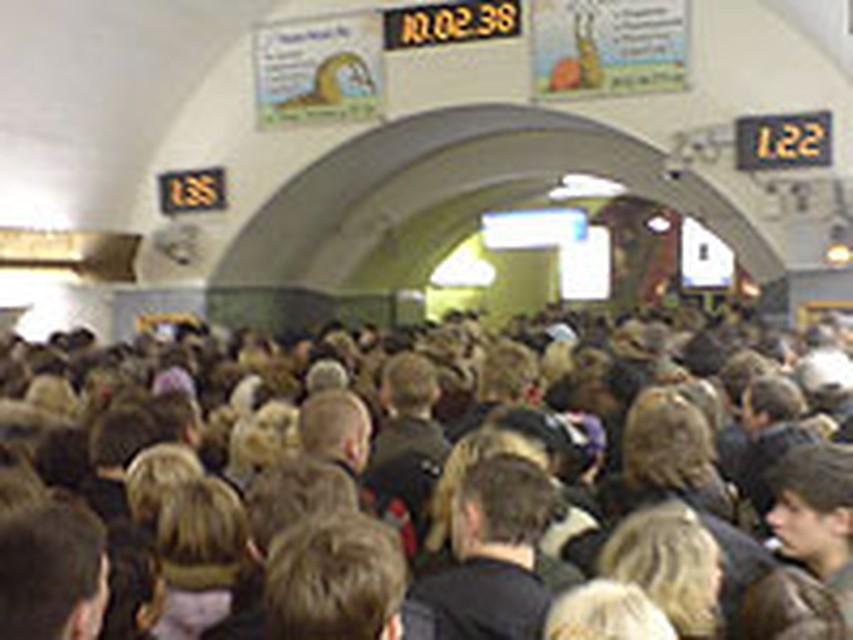 давка на казанском вокзале