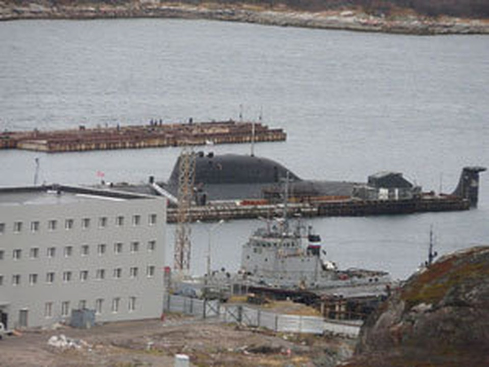 """Подводная лодка """"Гепард"""" приписана к Гаджиево."""