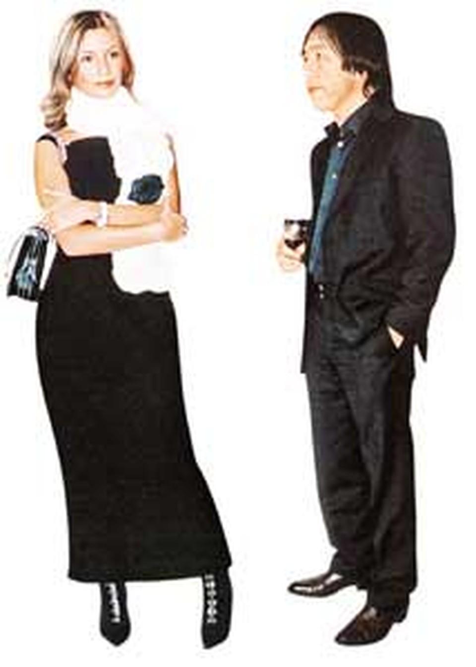 Кавалер Ольги Ренат - солидный бизнесмен, но очень ревнивый возлюбленный.