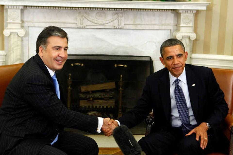 Саакашвили доволен встречей с Обамой