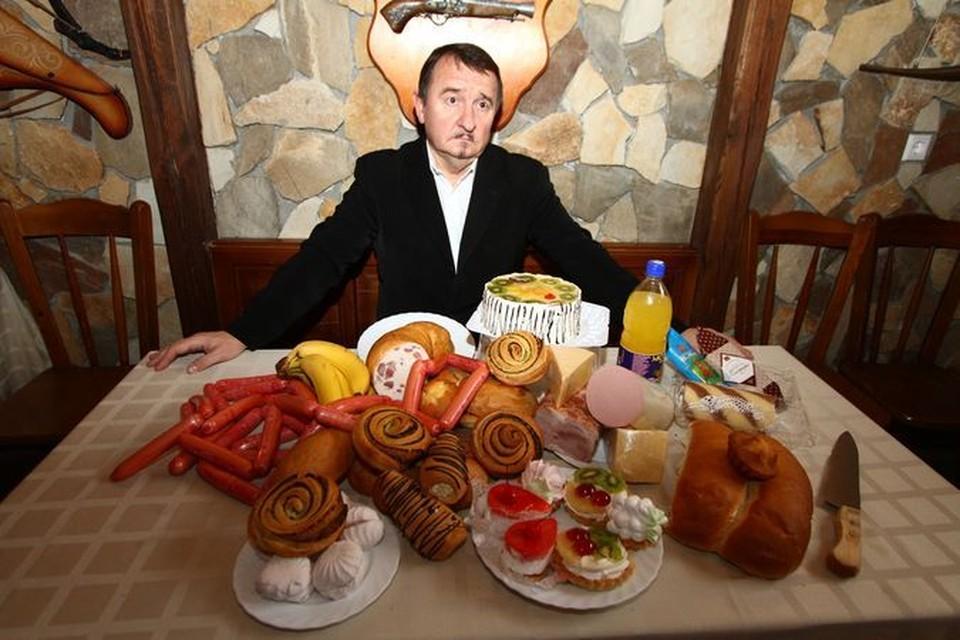 Крыжановский решил серьезно похудеть и на три месяца закодировался от жирного, сладкого и мучного.