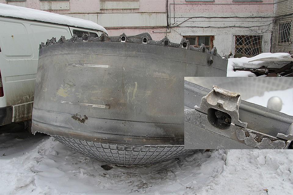 Роскосмос признал НЛО, найденное под Новосибирском
