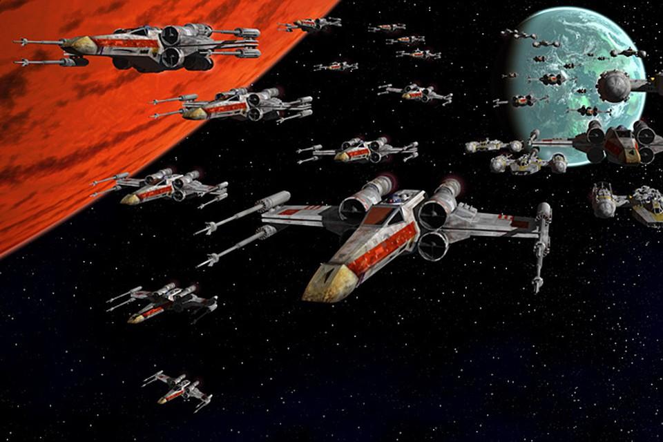 Технологии звездных войн в действии