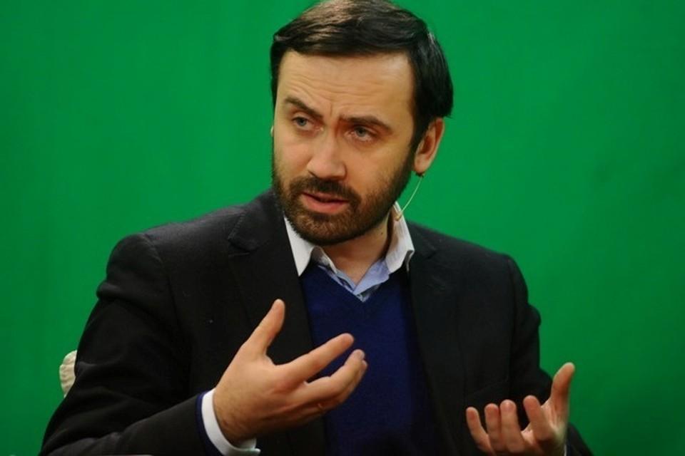 Илью Пономарева лишили права на слово