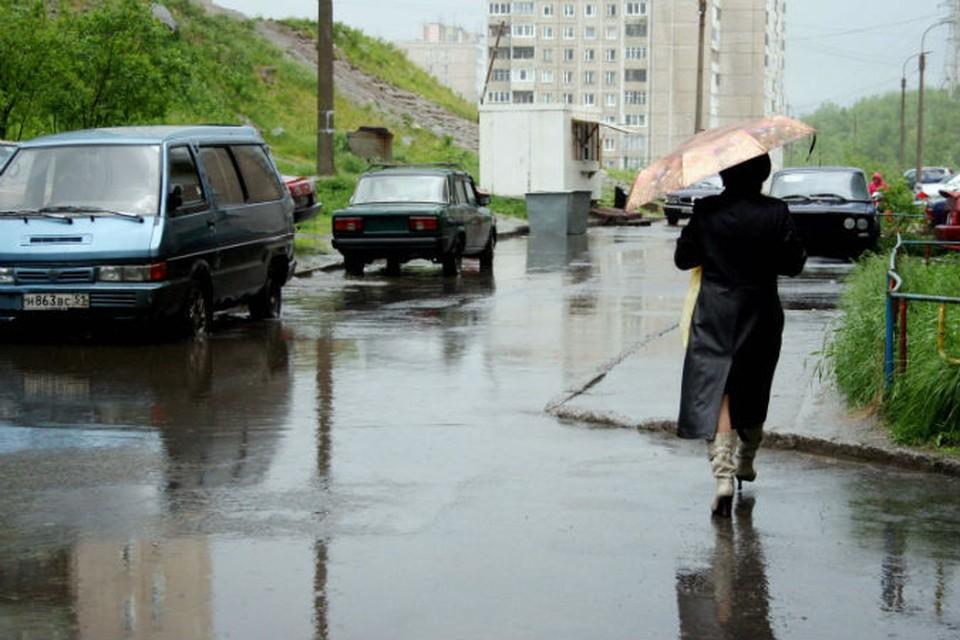 По Мурманску приятно погулять даже в дождливую погоду.