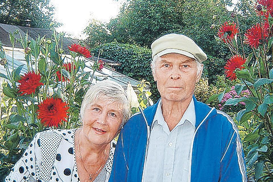 Семья Куровых отметила несколько лет назад золотую свадьбу!