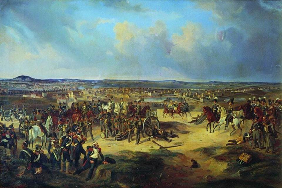 Сражение при Париже 17 марта 1814 года