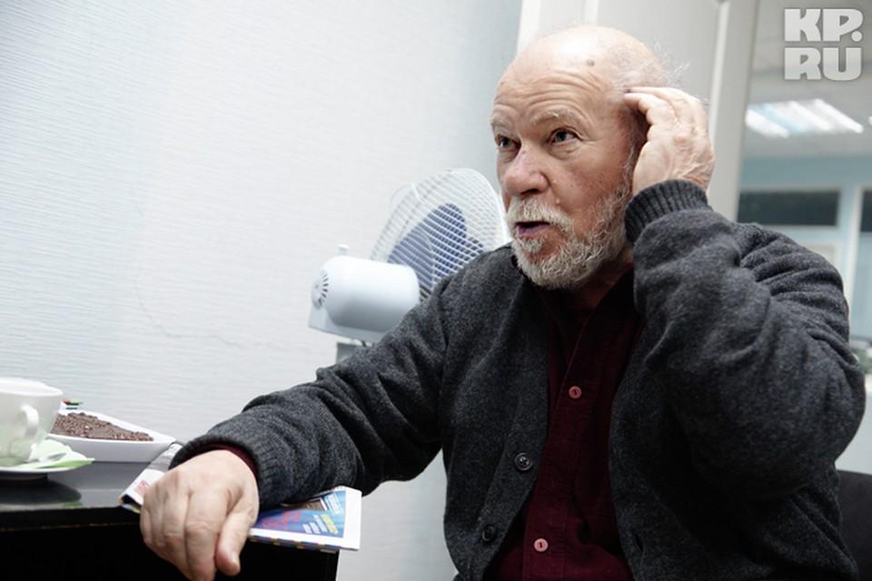 """Миша Шаевич в редакции """"Комсомолки"""" рассуждал о жизни и искусстве."""