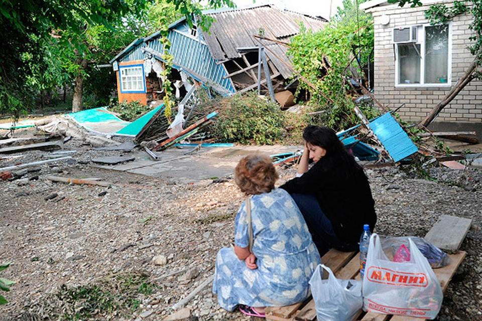 В начале июля 2012 года мощное наводнение обрушилось на Кубань