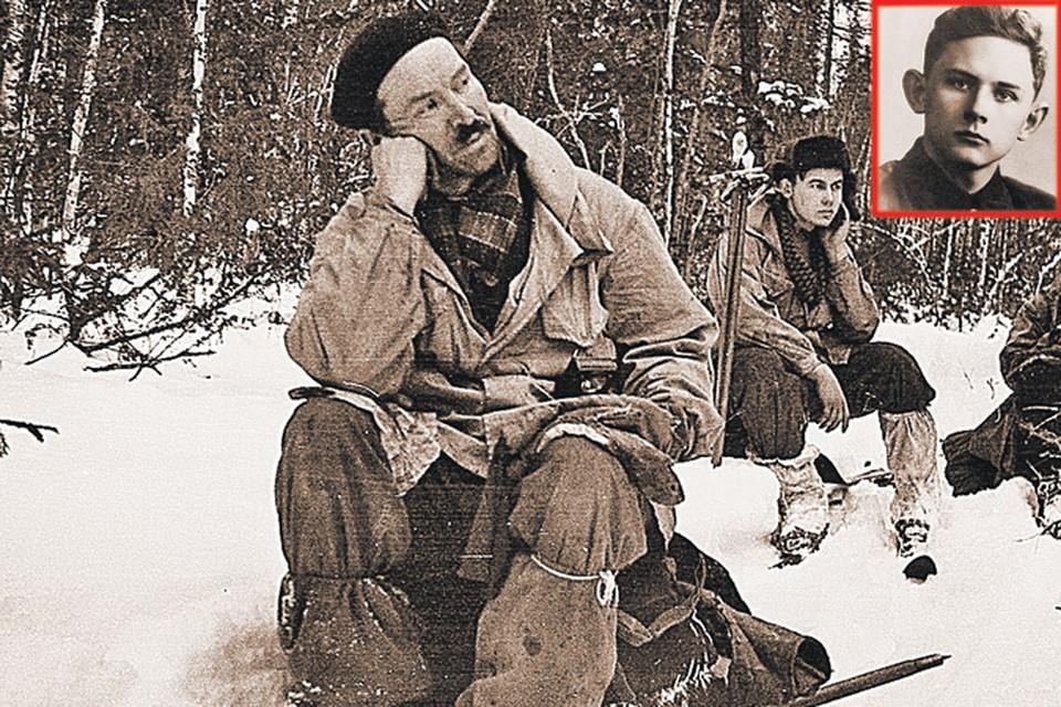 Эти три товарища - Семен Золотарев (на переднем плане), за ним Александр Колеватов и Георгий Кривонищенко (сверху), по мнению исследователя Алексея Ракитина, являлись сотрудниками КГБ, иименно из-за них американские шпионы якобы убили всю группу
