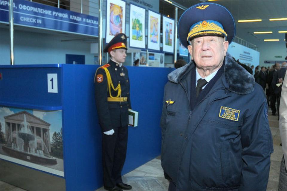 Кемеровскому аэровокзалу официально присвоено имя легендарного космонавта