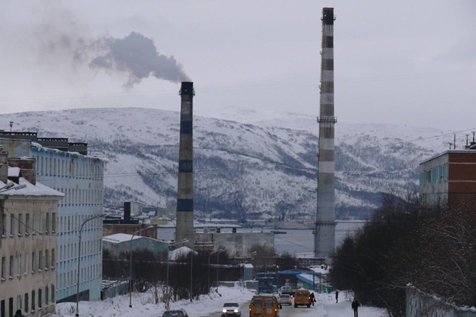 Самые опасные места - там, где много автомобилей и промышленных предприятий.