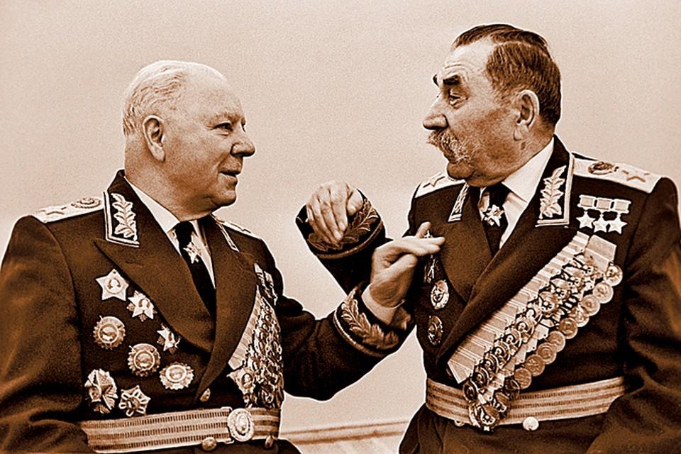 Кремлевские долгожители Ворошилов (88 лет) и Буденный (90 лет) вели активный образ жизни