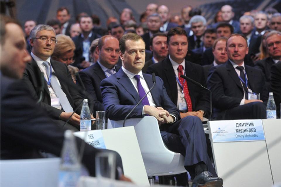 По мнению Медведева, еще одно условие экономического процветания – это демократия