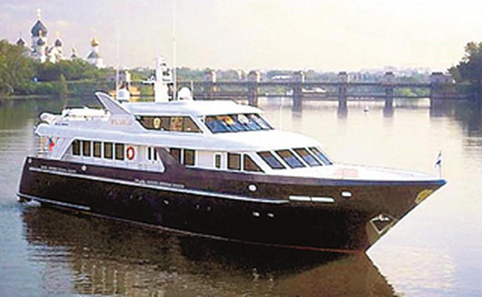 На этой яхте президент плавал лишь однажды: из Питера в Старую Ладогу.