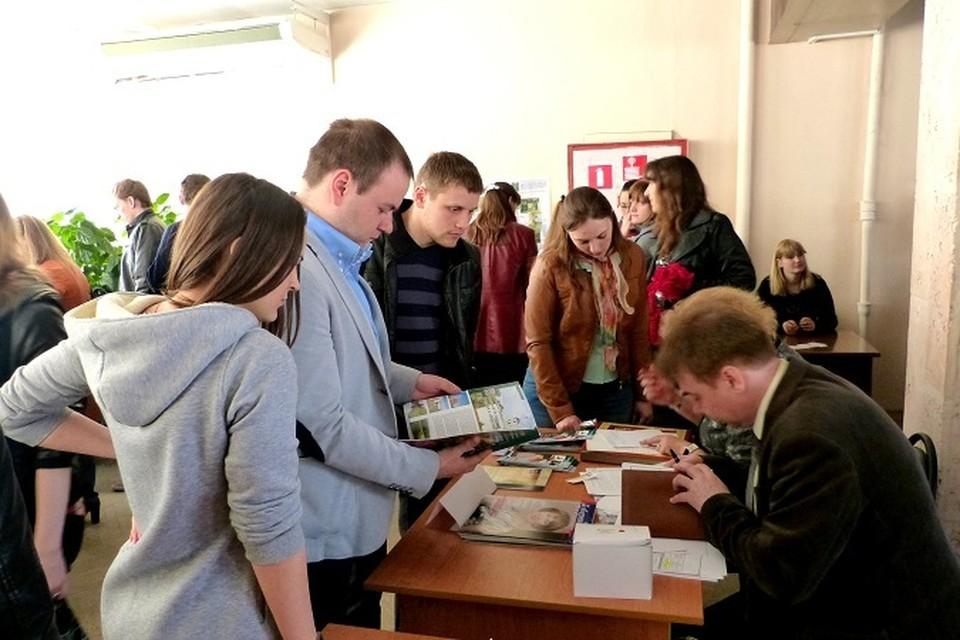 Ярмарка вакансий пользуется огромным спросом среди выпускников РязГМУ