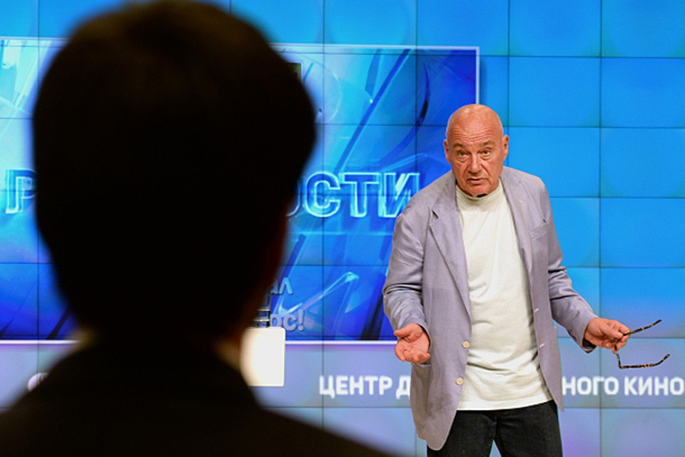Телеведущий и первый президент Академии российского телевидения, Владимир Познер прочитал открытую лекцию о журналистике в России