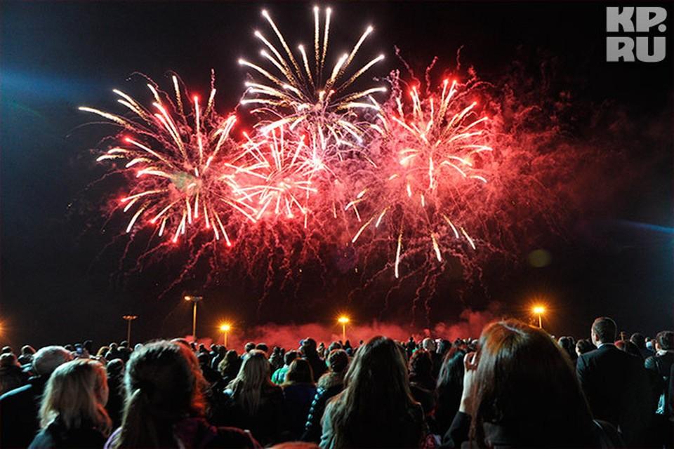 Праздничный феерверк вспыхнет над городом 17 августа в 23.00