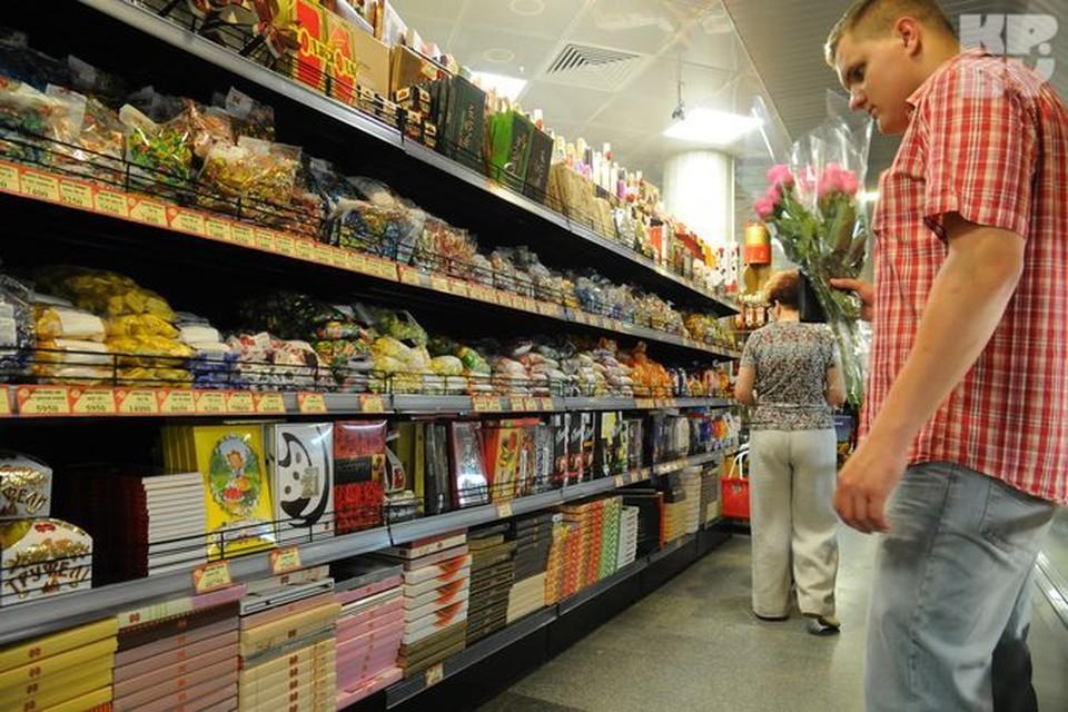 Купить украинские конфеты в наших магазинах пока можно без проблем.