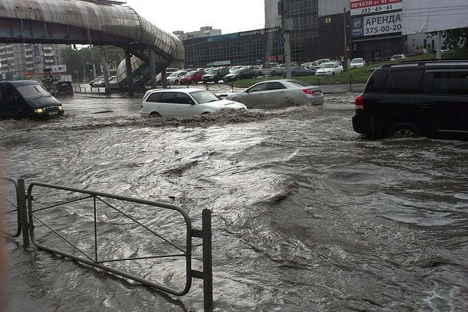 новосибирск дождь фото этом имеет