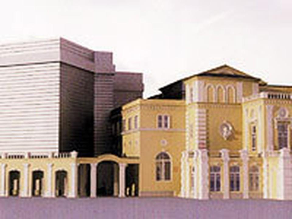 Такой вариант может решить многие проблемы театра и, по мнению руководства Купаловского, не испортит архитектурный ансамбль.