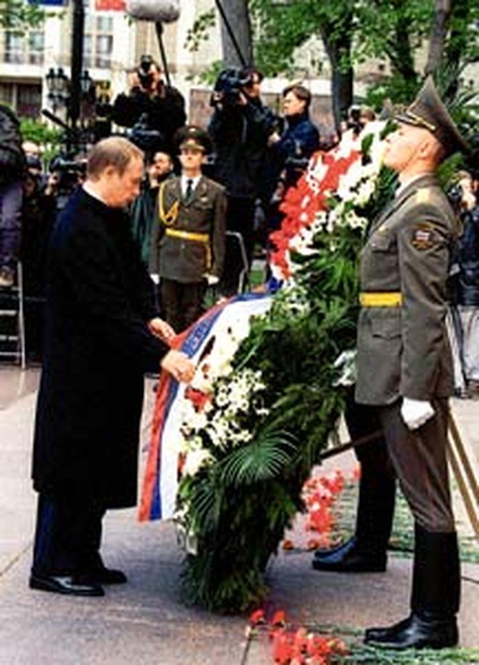 Президентский полк регулярно встречается со своим президентом.