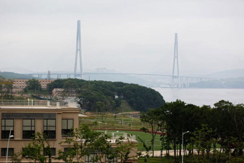 Мост на остров Русский - одна из главных достопримечательностей Владивостока.