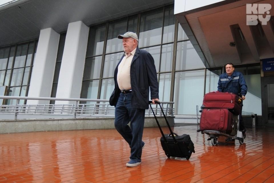 В Минск Джо Кокер летел двумя чартерами