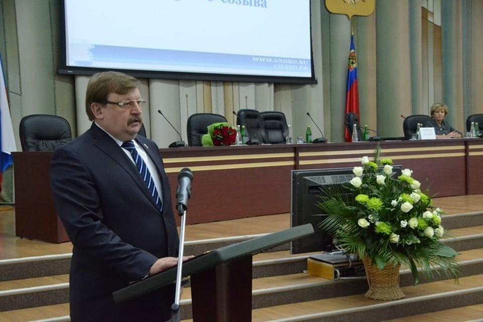 Кузбасский облсовет возглавил ветеран чеченской войны