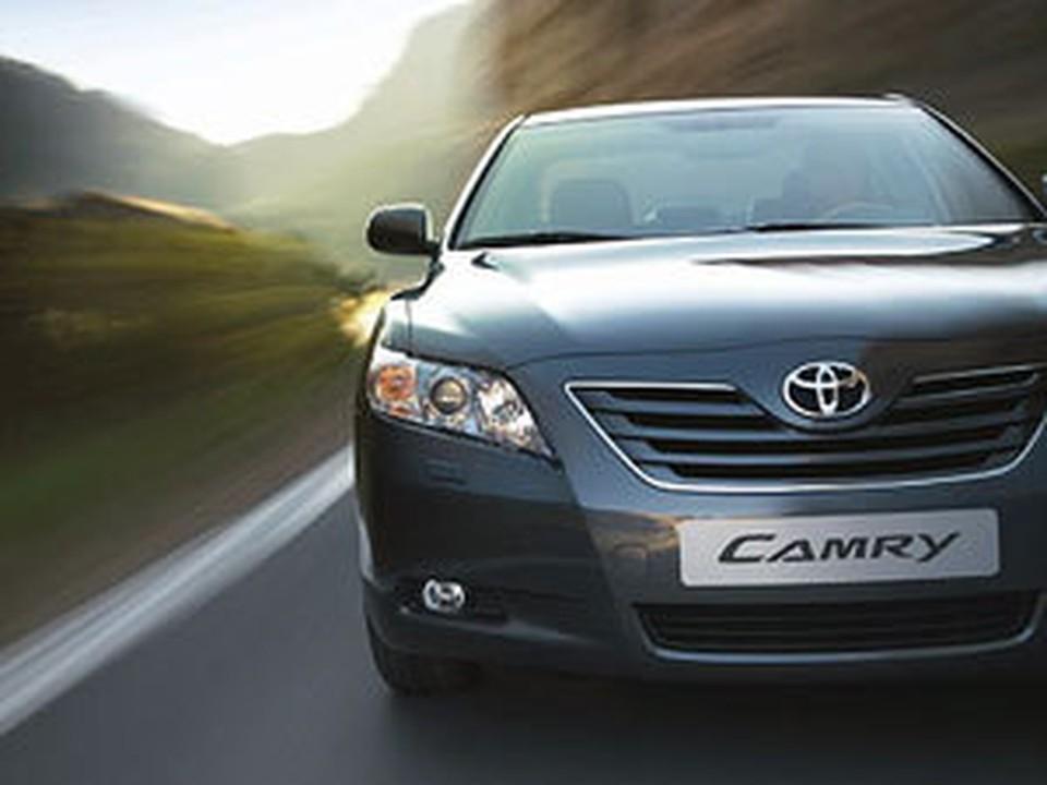 Toyota Сamry в зоне риска.