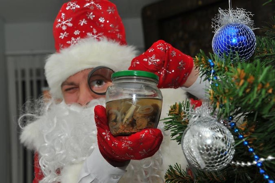 - Что там за консервант в новогодних угощениях?