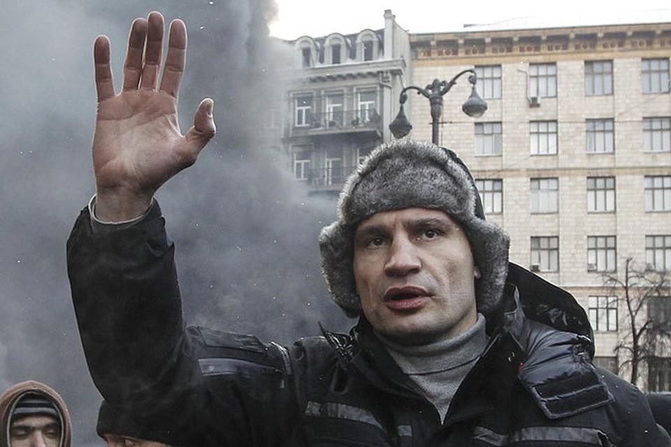 Кличко заявлял о том, что намерен баллотироваться в президенты на выборах в 2015 году
