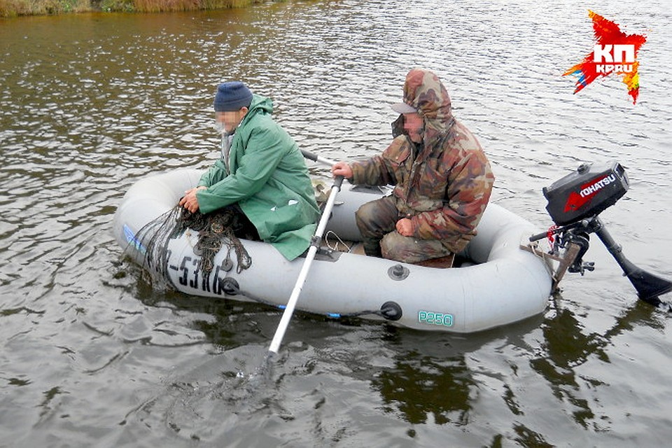 штрафы за рыбалку сетями 2017
