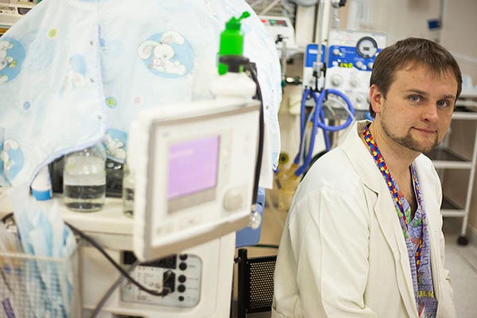 Андрей Витушко- врач отделения анестезиологии-реанимации (с палатами интенсивной терапии для новорожденных) РНПЦ «Мать и дитя».
