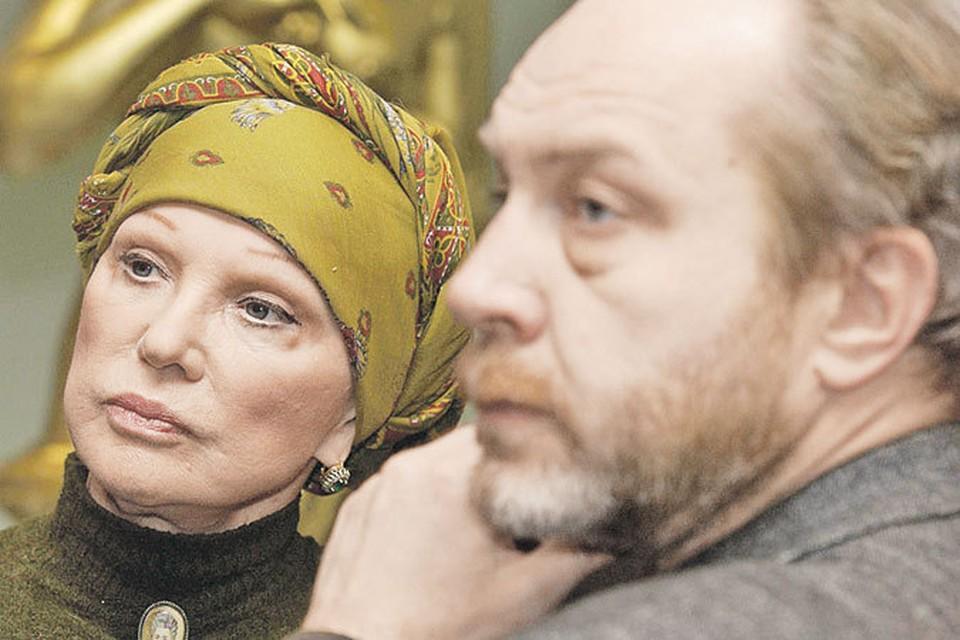 Людмила Гурченко и Сергей Сенин. Ее последняя любовь.