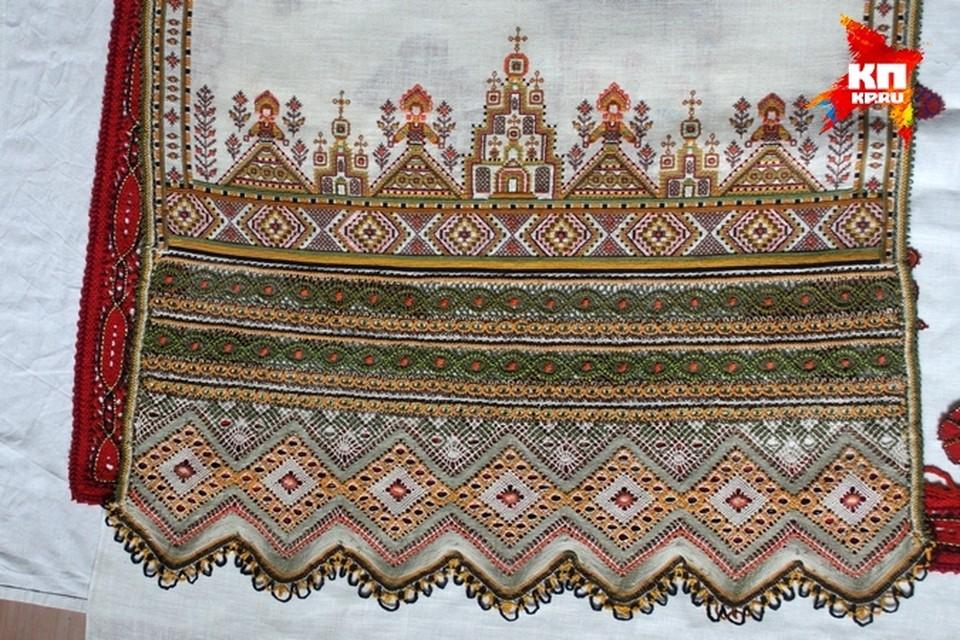 Удивительные творения рязанских мастериц.