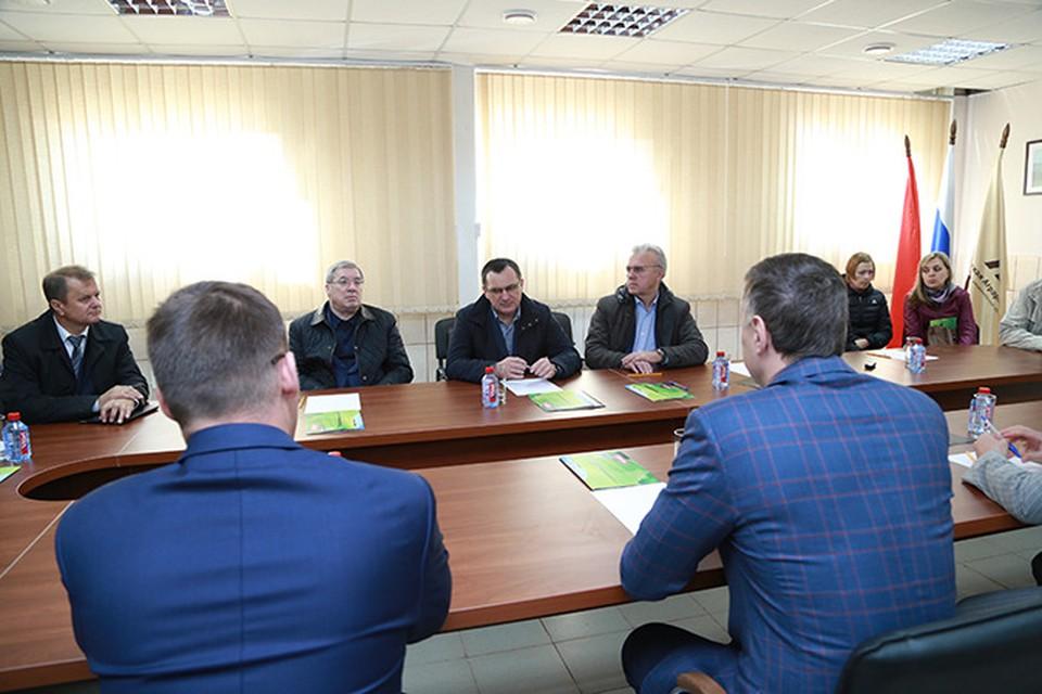 Министр сельского хозяйства Николай Федоров провел совещание в Красноярске