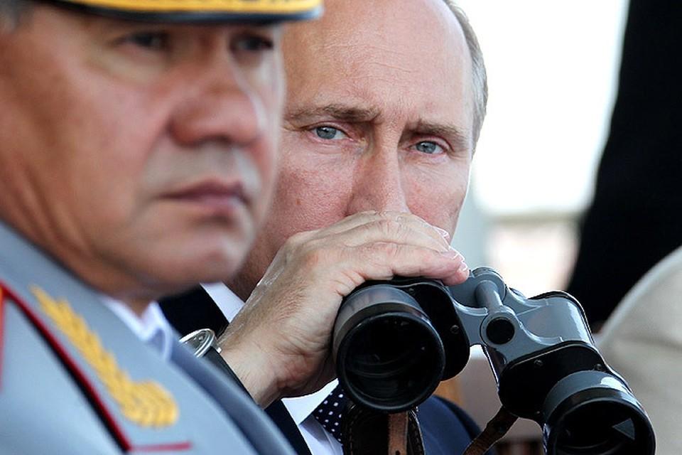 Путин и Шойгу продолжат внезапные проверки армии