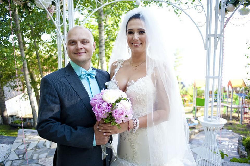 Невеста получает огромный член